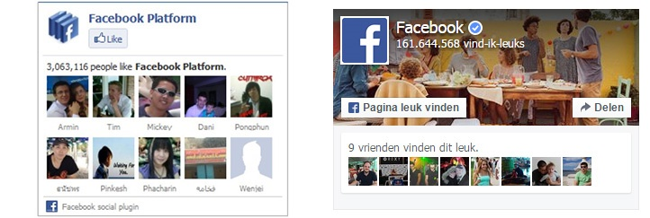 facebook-like-box naar facebook page plugin