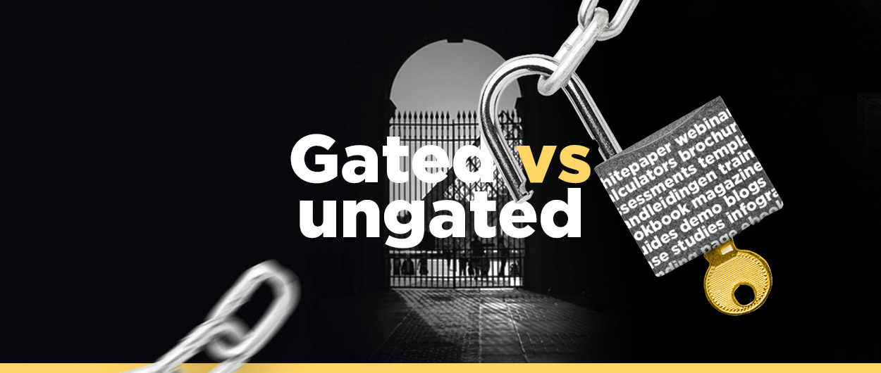 Gated vs. ungated content